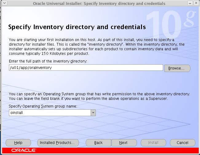 PERUMAL ORG - Install Oracle Database 10g (10 2 0 3) on Red